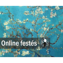 Mandulavirágzás - FESTÉKSZETT