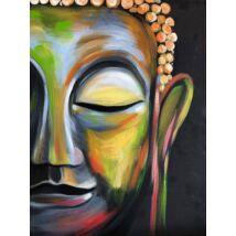 Szivárványos Buddha