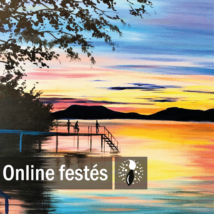 Balatoni nyár - Festékszett