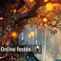 Titkos erdő - FESTÉKSZETT