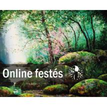 Mesél az erdő- FESTÉKSZETT