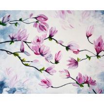 Orchideák - 4 darabból álló összerakós festmény 4 fő részére