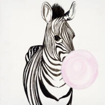 Vidám négyes - Zebra