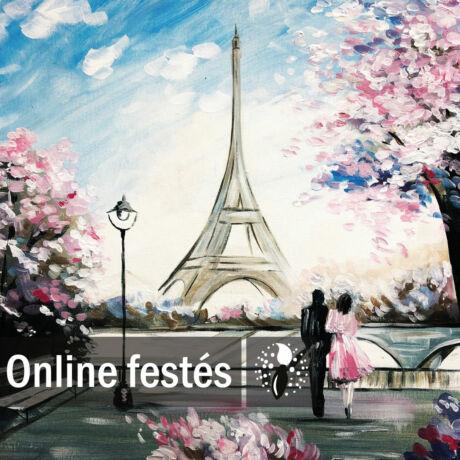 Randevú Párizsban - FESTÉKSZETT