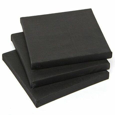 40 x 50 cm fekete feszített festővászon